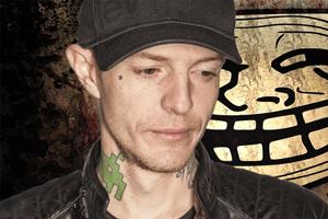 Il troll sul viso di Deadmau5
