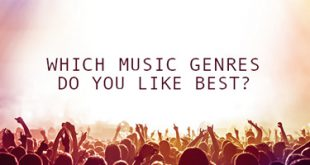 Which music genres do you like best